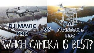 DJI Mavic Pro vs Phantom 3 Pro review - the BEST DRONE with a 4K camera!