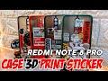 - Rekomendasi Case/Casing Terabru Redmi Note 8 Pro  Desain 3D Print Sticker Dengan Pelindung Kamera