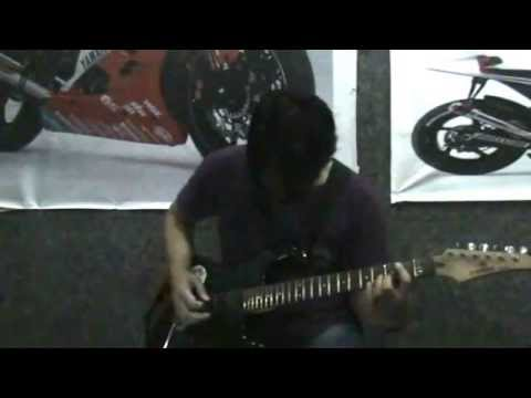 Slank - aku Gila (guitar cover & solo)