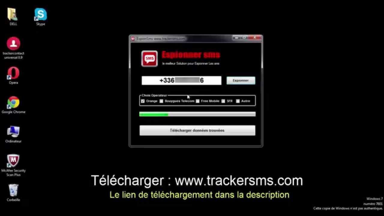 telecharger espionner les sms dun portable