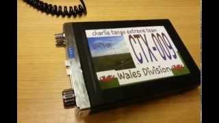Portable cb radio equipment for CTX