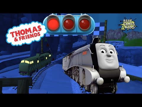 The NIGHT Great Race w SPENCER!  Thomas & Friends: Magical Tracks  Kids Train Set By Budge