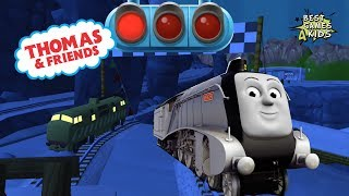 The NIGHT Great Race w/ SPENCER! | Thomas & Friends: Magical Tracks - Kids Train Set By Budge