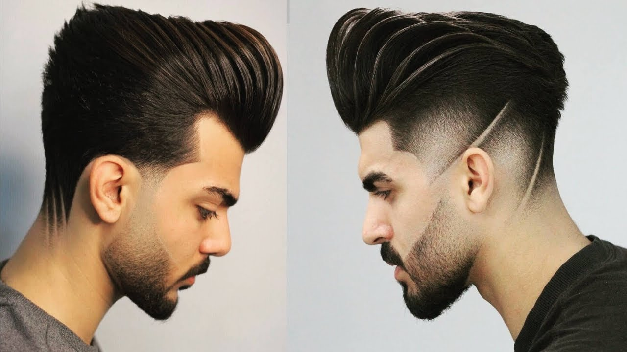 New Mens Hairstyle 2019 New Hair Style For Boys 2019 Men S Trendy Hairstyles Youtube