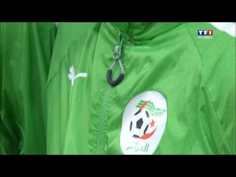 Algerian National Anthem vs Germany, WC 2014 !
