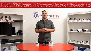 h 265 mini dome ip cameras product showcasing