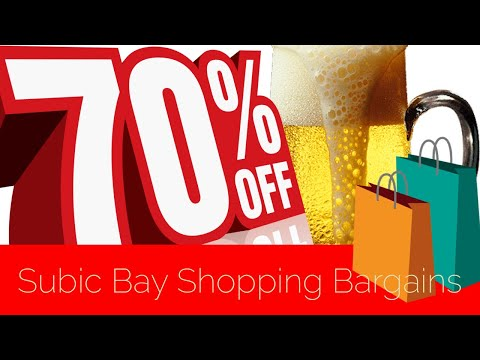 Subic Bay Shopping Bargains