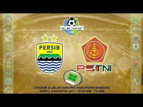 Persib Bandung vs PS TNI 3-1/all goals &...