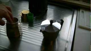 Echten Kaffee kochen - Cooking real coffee
