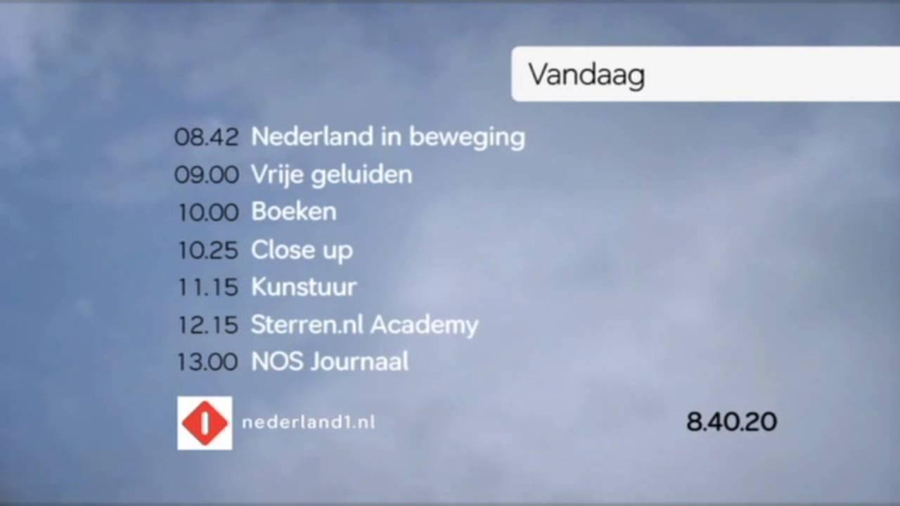programmaoverzicht nederland 1