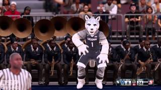 NBA2K16 Campaign pt6 - Weird Crowd Chants and Another Home Game vs. Villanova