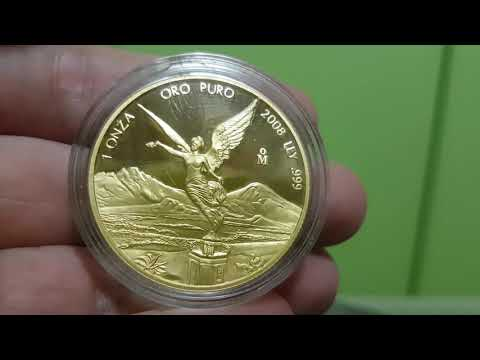 Mexico Libertad Gold 2008 1 oz PROOF coin bullion Review HOT!