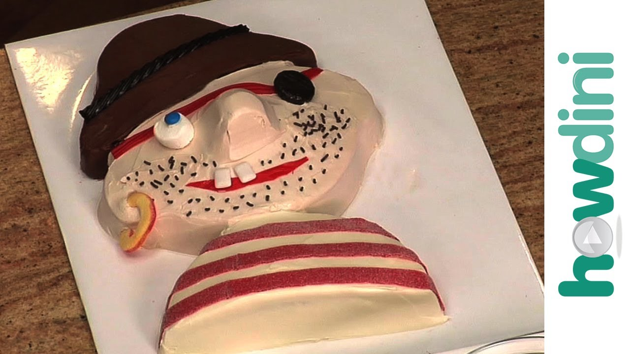 Birthday Cake Ideas How To Make A Pirate