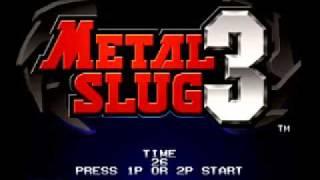 Metal Slug 3 Blue Water Fangs (The Island of Dr. Moreau)