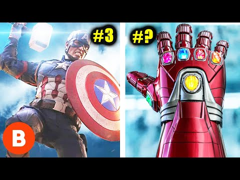 Marvels Most Powerful Weapons Ranked