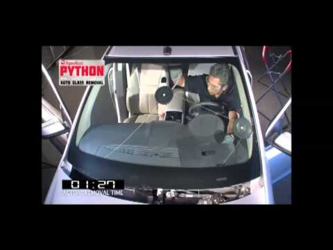 BTB Tools - Equalizer Python Wire Windscreen Removal Tool - YouTube