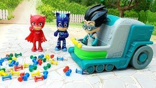 Мультики для детей про машинки и игрушки Герои в масках смотреть онлайн  - Хитрость и дружба.