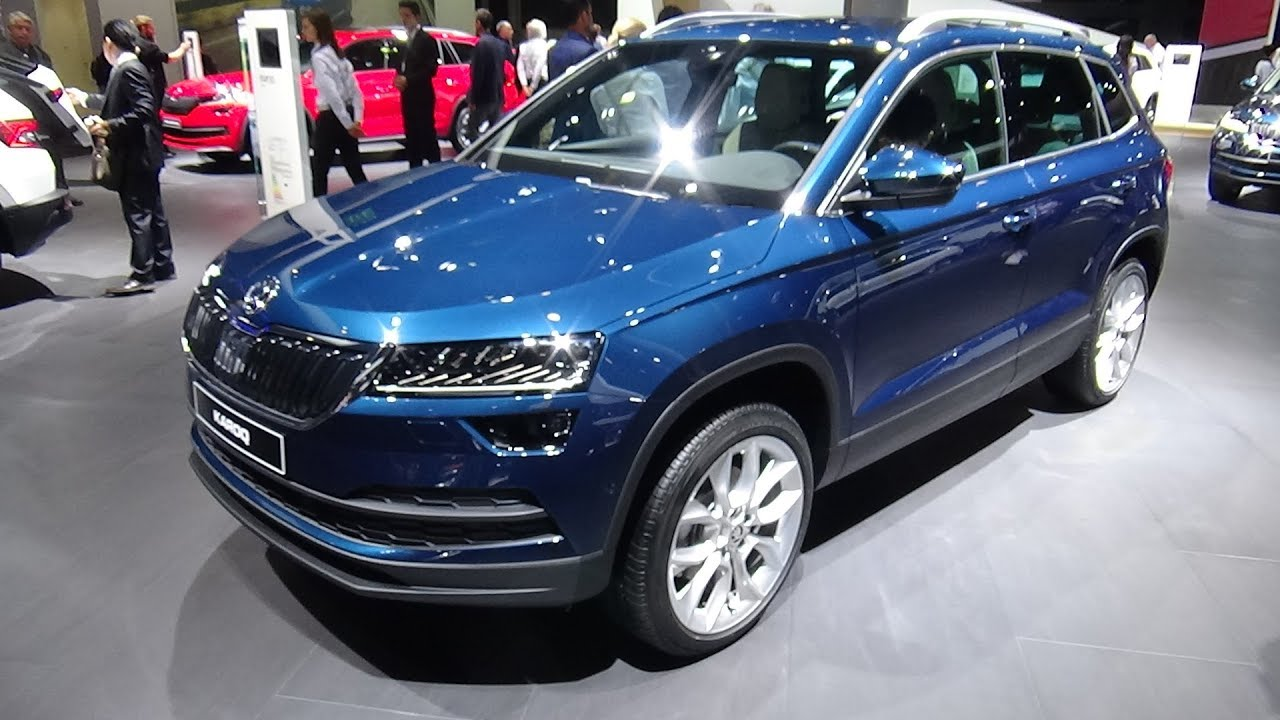 2018 skoda karoq style 2 0 tdi 4x4 exterior and interior. Black Bedroom Furniture Sets. Home Design Ideas