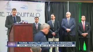 Another push for ridesharing in Western New York by Visit Buffalo Niagara