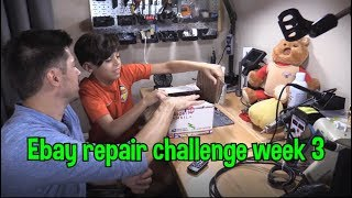 3rd week Ebay Repair Challenge and Soldering Skills put to the Test !