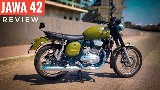 JAWA 42 Detailed Review | Mileage | Price | Exhaust