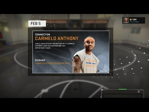 NBA 2K16 CONNECTIONS: JORDAN AND CAREMLO ANTHONY