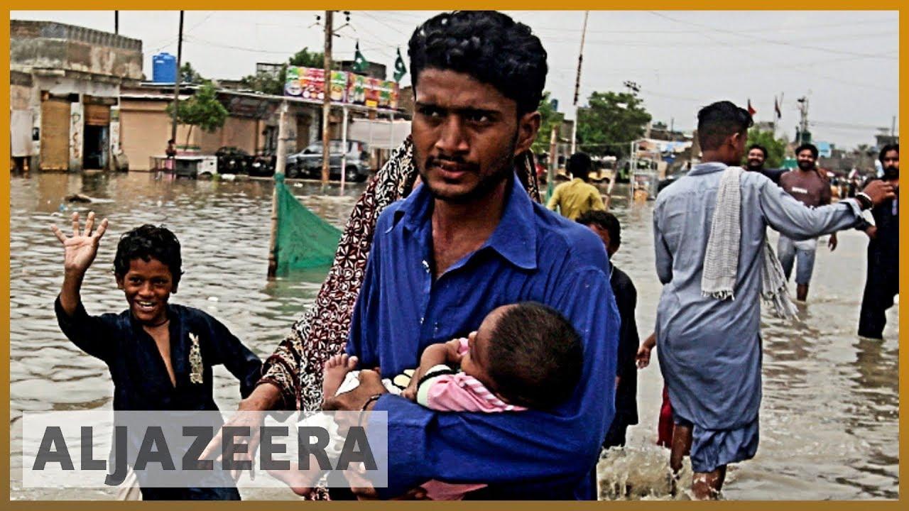 AlJazeera English:Pakistan floods: Scores of people evacuated
