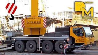 видео Автокран LIEBHERR LTM 1070-4