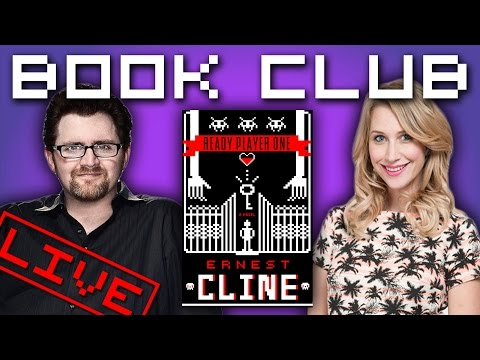 Book Club with Ernest Cline - Ready Player One!