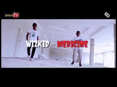WIZKID-Medicine Remix ft flavour x phyno~dance video by Golden dancers(Aunty Mary x Gamebwoy)🔥