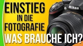 Fotografie Einstieg für Anfänger - Was brauche ich? - caphotos.de