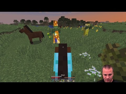 The Hunt For Horses   Expedition Of The Dad Minecraft Adventure Games EP-9   Gaming With Shawn Davis