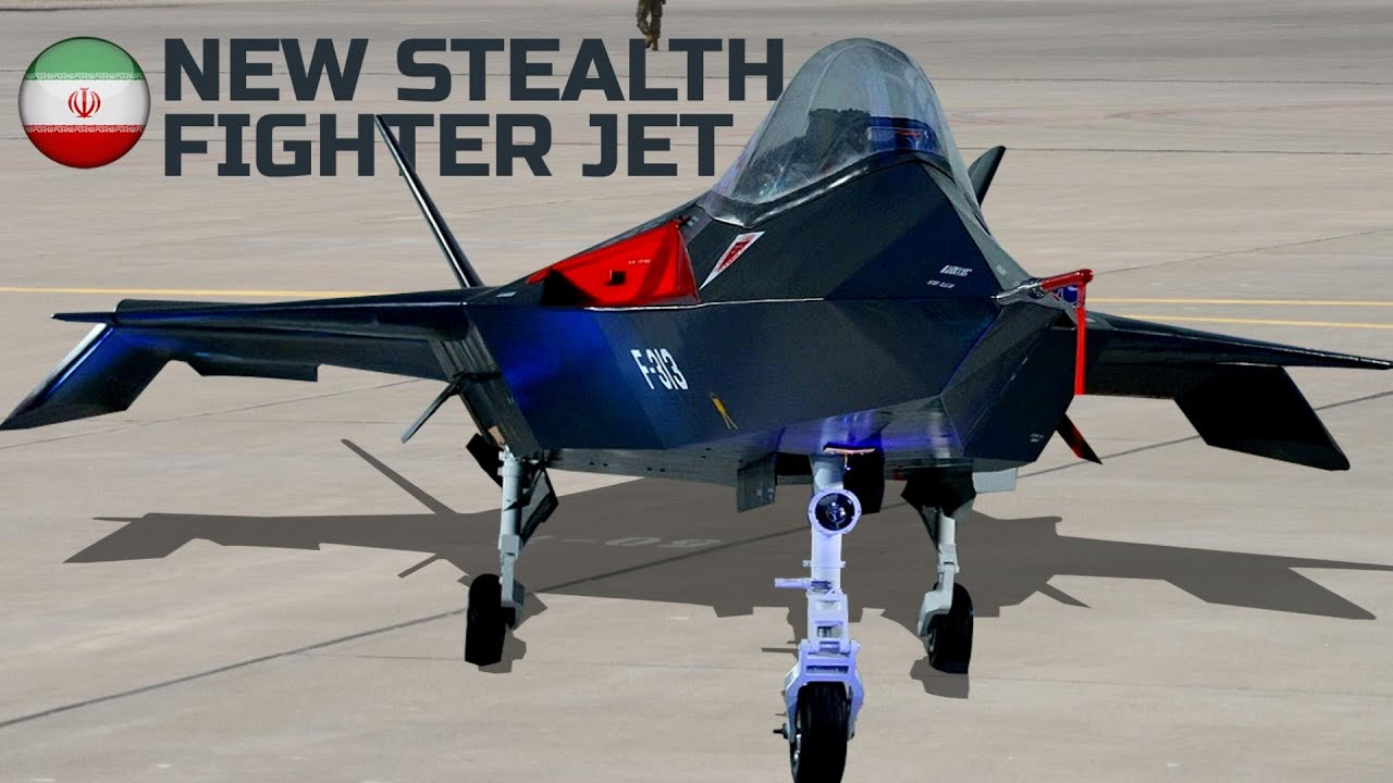 Iran's New Stealth fighter-jet Qaher f-313 Capability - the most incredible Fighter-jet ever bu