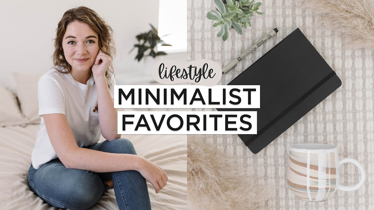 MINIMALIST LIFESTYLE FAVORITES 🌱   10 Must Have Items That I'm Loving Right Now
