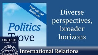 What's in the Politics Trove: International Relations collection? thumbnail