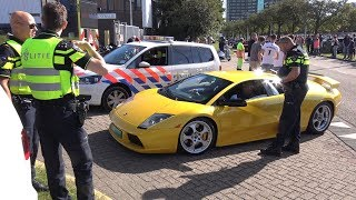 Lamborghini Murcielago 6.2 V12 Pulled over by the Police!