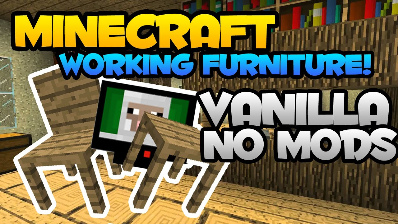 New Cool Furniture Ideas for Minecraft