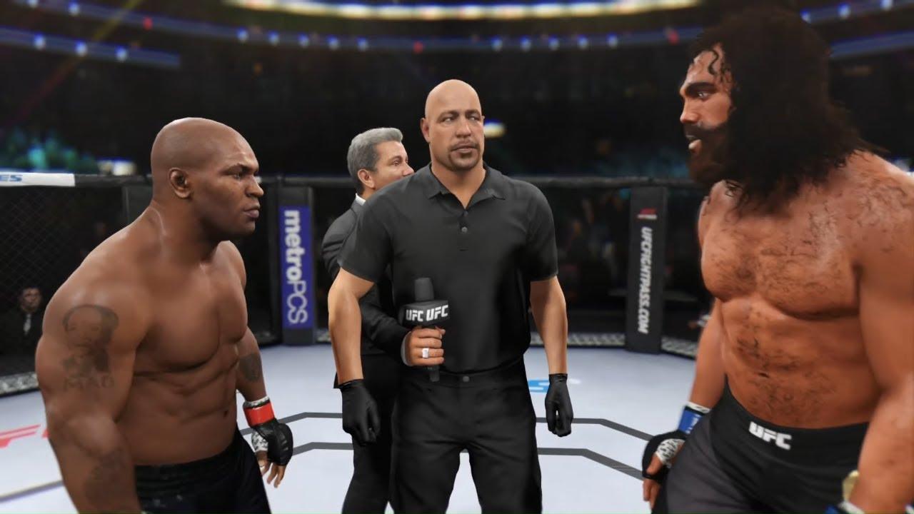 Mike Tyson vs. Gilgamesh - EA Sports UFC 2 - Boxing Stars ?
