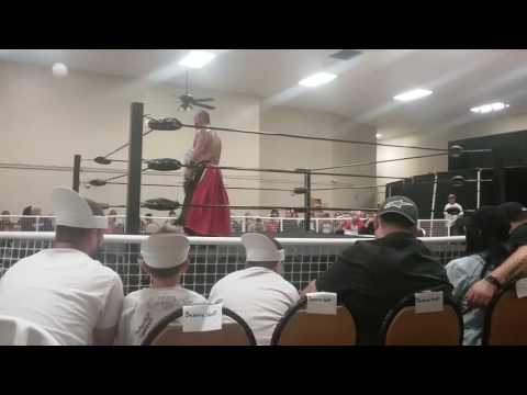 Brian Hardy vs Tokyo Monster Kahagas (USW championship) 10 15 2016 Fairless hills,PA