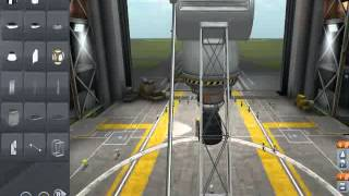 KSP- How to build custom landing legs tutorial.