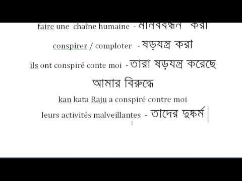 Français Avec Rabbani Vocabulary French-Bangla 2 (la politique = Politics)