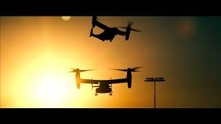 Transformers 1 Qatar Battle Scene AC130 A10 Warthog