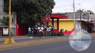 Arriban Grupos de Autodefensa a la cabecera municipal de Múgica