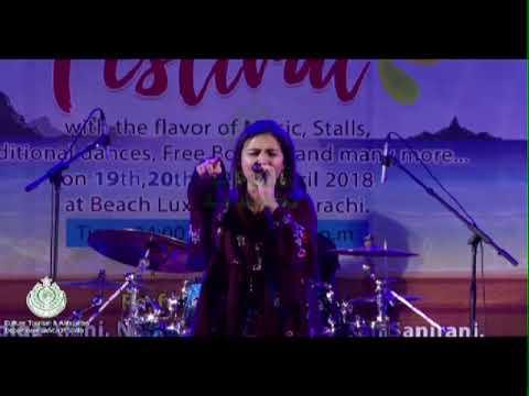 Yaar Dadhi Ishq Aatish Sung By Natasha Baig In Sea Festival 2018