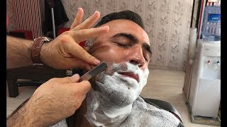 Asmr Barber Shave   Beardcut    Face Relieving    Thanks By Numan