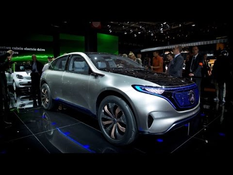 Mercedes creates a new line of electric vehicles