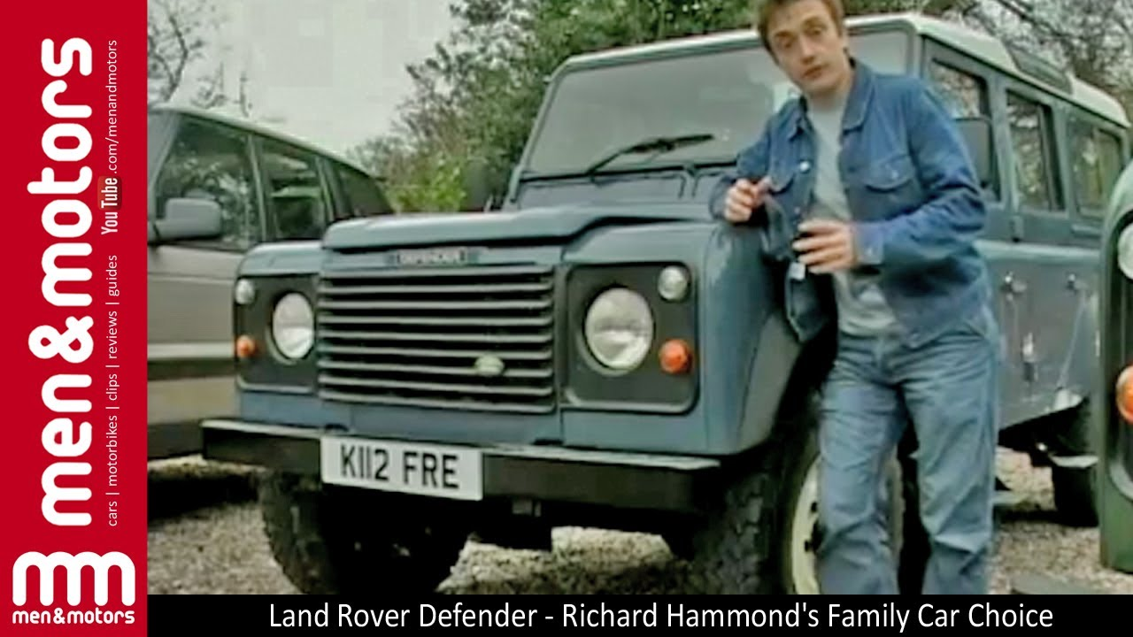 land rover defender richard hammond 39 s family car choice youtube. Black Bedroom Furniture Sets. Home Design Ideas