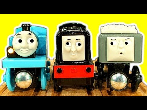 Thomas The Tank Wooden Trouble Fun Devious Diesel Collection Chug Patrol Jackman Train Toys