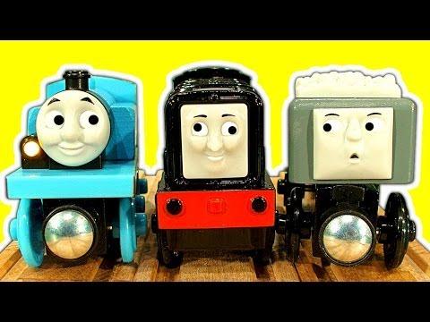 Thomas The Tank Wooden Trouble Fun Devious Diesel Collection Chug Patrol Jackman Train Toys