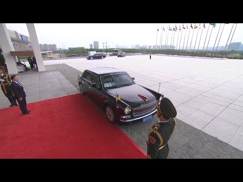G20 Leaders Arriving at Summit Venue